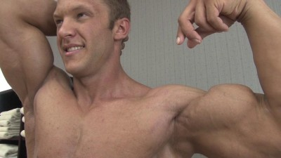 Pumping Muscle - Sam S Photo Shoot Part 3