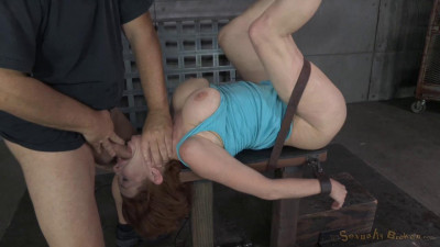 Veronica Avluv Gets Blindfolded, Handcuffed And Used Hard From Both Ends By Hard Cock (2014)