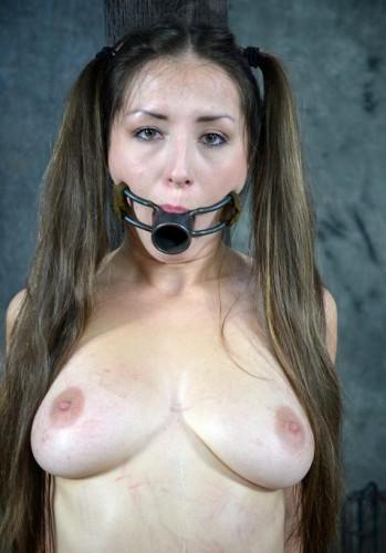 BDSM slave in action