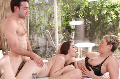 Ryan Keely, Anastasia Rose – Sharing The Creamy Load FullHD 1080p