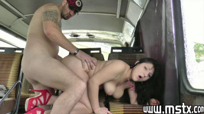 Bbw french milf slut get anal pounding at van