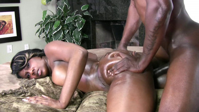 Goddess like ebony fucked so hard