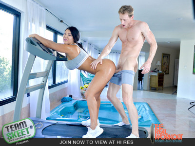 August Taylor - Hottest Workout Ever FullHD 1080p