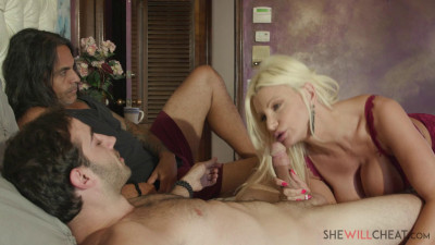 Brittany Andrews - Busty blonde milf cuckolds her husband (2019)