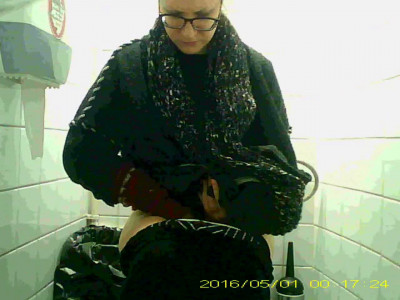 Hidden camera in the student toilet Part 35