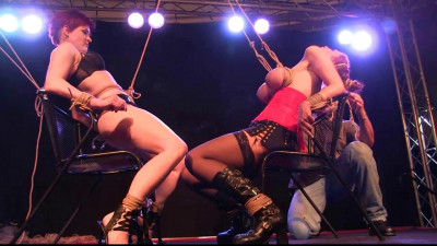 Two Girl Predicament Show at Boundcon in Germany