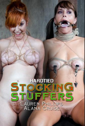 Stocking Suffers- Alana Cruise, Lauren Phillips