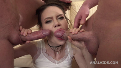 Tina Grey 2on1 Balls Deep Anal