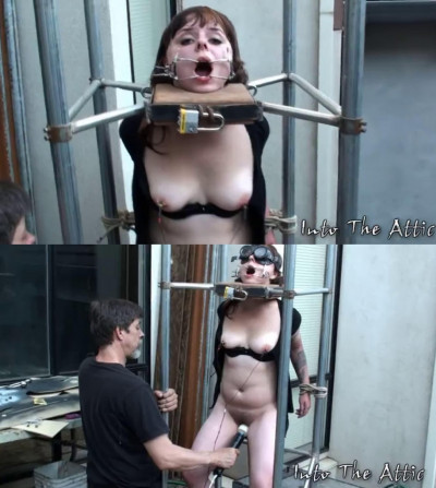 Bondage, domination, strappado and torture for hot bitch part 1