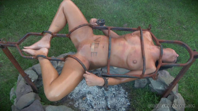 Outdoor Domination For Sweaty Slave London River