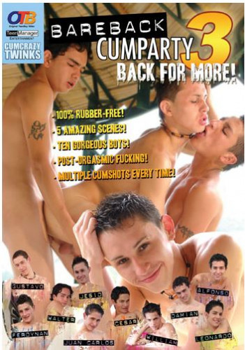 OTB Video - Bareback Cumparty 3: Back for More! (2005)