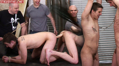 Toby-Angry lad's nipples clamped