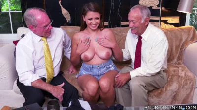 Description Ivy impresses with her big tits and ass