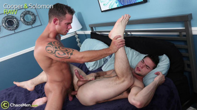 Description Passionate jumps of naked guys on a hard dick