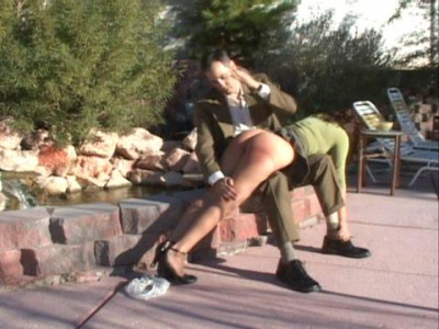 Progressing With Each Girl From Spanking On The Skirt To Spanking