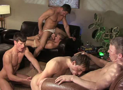Raw orgy with most popular guys