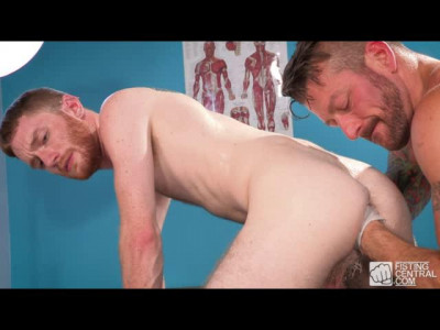 Dr Office Fisting, Scene 1 - Seamus O'Reilly & Hugh Hunter