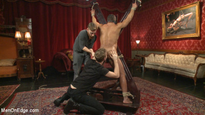 Description Alpha Stud Gives in to a Prolonged Edging