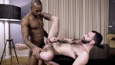Stephen Harte Rides Black Pearl's Big Black Dick HD