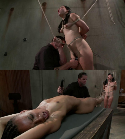 Bondage, spanking, strappado and torture for sexy hot girls part2
