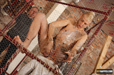 BoyNapped - Hardcore Prisoner Abuse (Deacon Hunter, Kenzie Mitch, Sebastian Kane)
