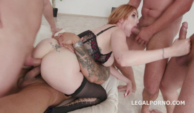 Double Anal Destination With Sexy Milf