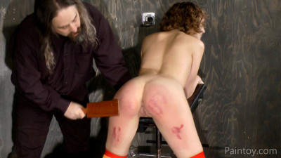 Mina K - Spanked Paddled And Abused