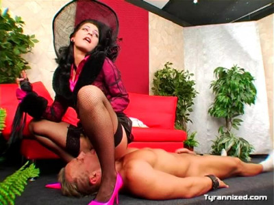 Muscle Dudes Get Dominated Too - Mistress Simone Shine