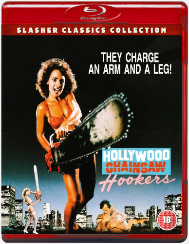 Description Hollywood Chainsaw Hookers(1988)- Gunnar Hansen, Linnea Quigley