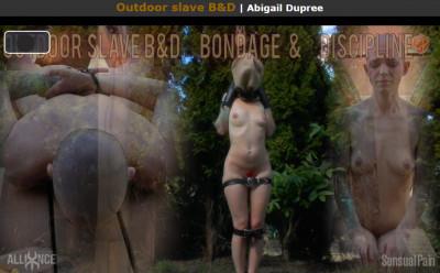 Sensualpain Outdoor slave B&D
