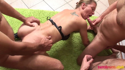 Ugly amateur first time MILF casting