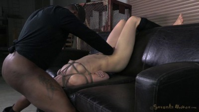 SexuallyBroken  All 3 Holes Used Pounding Anal