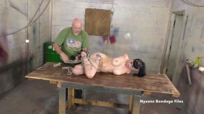 Nyxons Bondage Files - Nyxon Forced To Endure 3 Excruciating Ties Pt 3