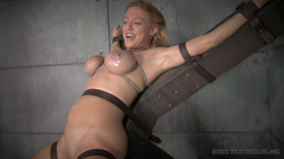 Simone Sonay worked over hard by 2 cocks