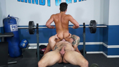 Description Gay Porn Star Scotty Marx and Caleb Strong show you ten ways to get laid at the gym