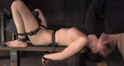 Fresh Faced Kasey Warner Belted To Sybian