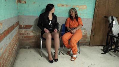 Gotcuffs - Anna and Adara in jail