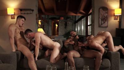 Ass-Splitting Foursome FHD