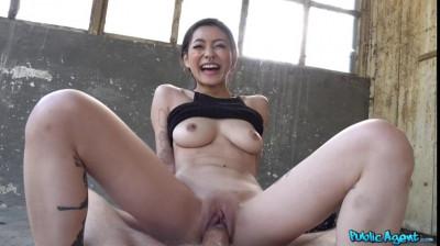 Japanese beauty fucks for cash