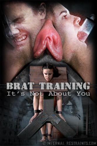 Description Infernalrestraints Penny Barber Brat Training: It's Not About You