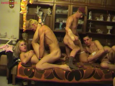 Real amateur orgy