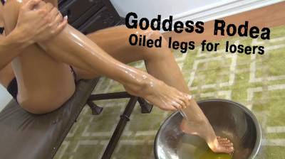 Oiled legs for losers