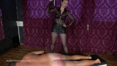 Description Ballbustingchicks - Victoria Valente - Corporal Punishment