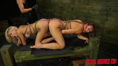 Cumwhores — Bibi Miami & Callie Calypso — HD 720p
