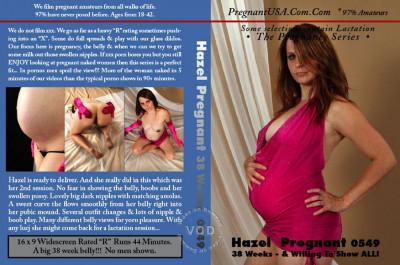 Hazel Pregnant 38 Weeks