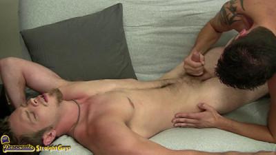 Scott's First Male Blowjob