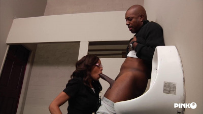 Destiny Day – The Black Secretary Has A Big Desire Of A Cock In Her Ass