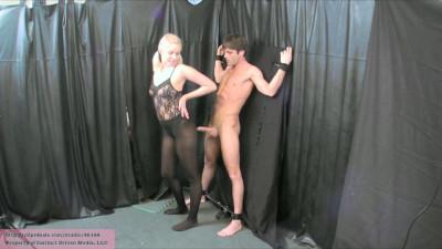 School Girl Lapdance And Ballbust