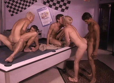 Young Men In Group Sex Party