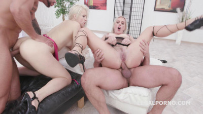 Domination Orgy With DAP & Fisting — Brittany Love & Nikki Hill